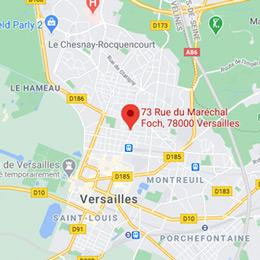 Localiser l'Office de Versailles